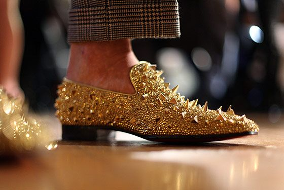 mens christian louboutin loafers