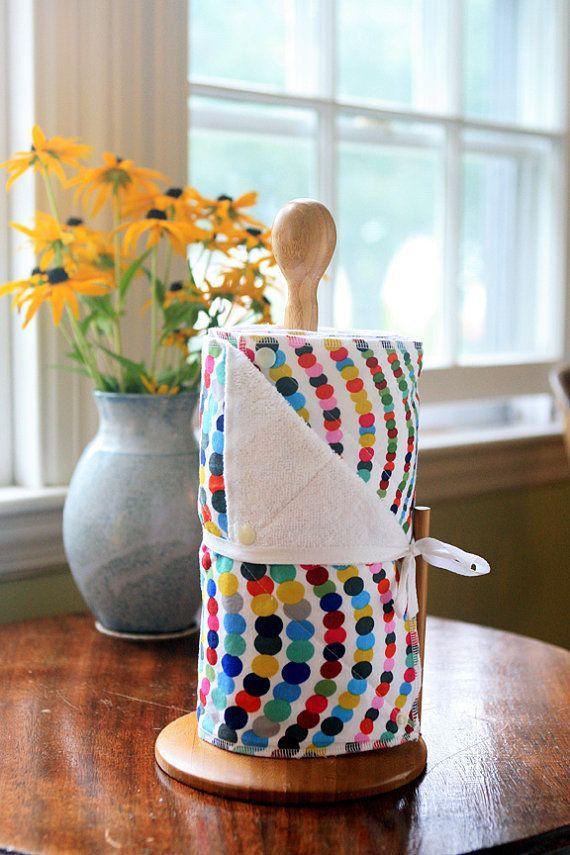 25 + › Dieses Angebot bezieht sich auf ein Set von 12 wiederverwendbaren Papierhandtüchern in einem modernen, farbenfrohen …