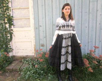 Reconstruir la capa de suéter / / lana Shetland / / por emmevielle