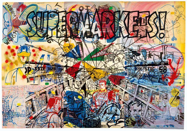 Sigmar Polke » Supermarkets!David Zwirner #FredericCla #FredericCla