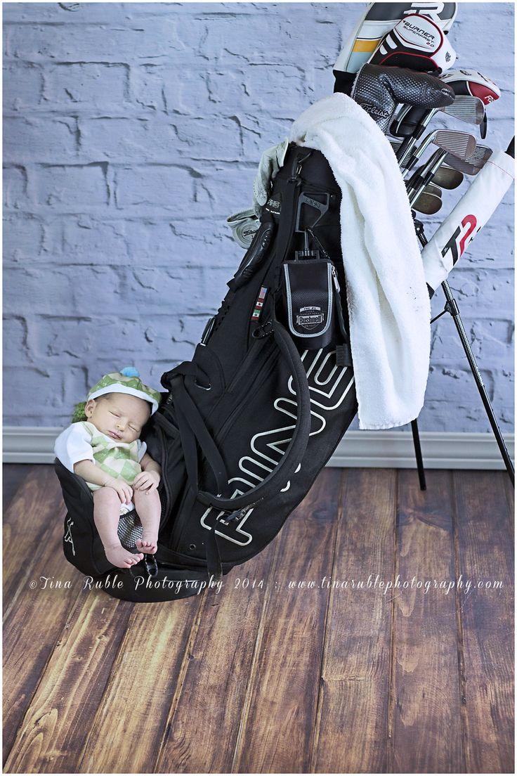 Newborn Photography, Pose Ideas, Inspiration, Baby Pictures, Newborn Boy Photography, Golf, Composite Photo, Hillsboro OH Photographer