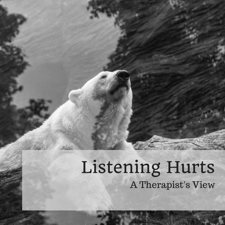 Listening is raw and active. When we listen we allow the speaker to lead us across the terrain of their inner world and ours. Listening costs something. It requires something. And it is new every moment in the doing of it.