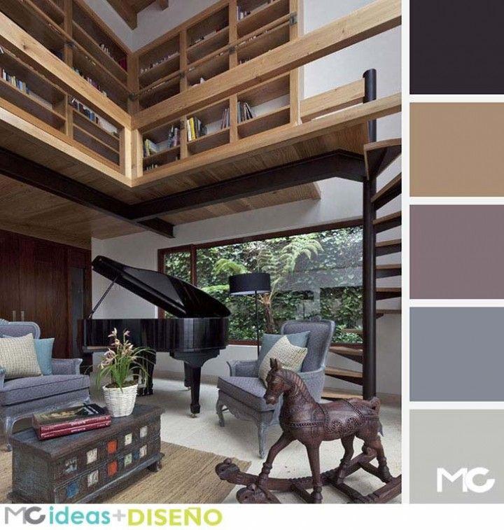 17 mejores ideas sobre paletas de colores neutros en - Paleta de colores para interiores ...