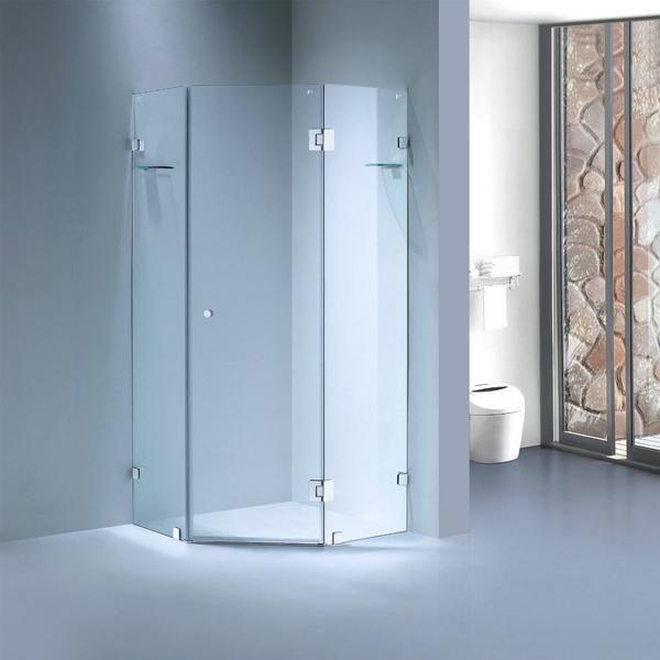 Bathroom Shower Online Sydney Fframeless Pivoting Shower Screen