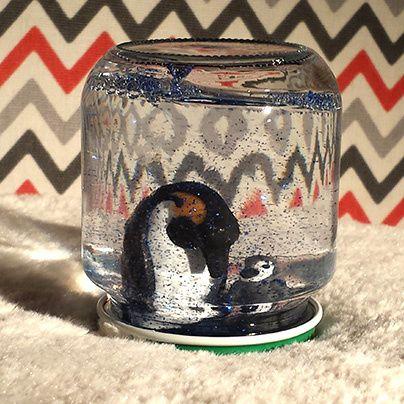Tutoriel DIY boules à neige - pingouin, blog Margo & Hubert #DIY #bouleaneige