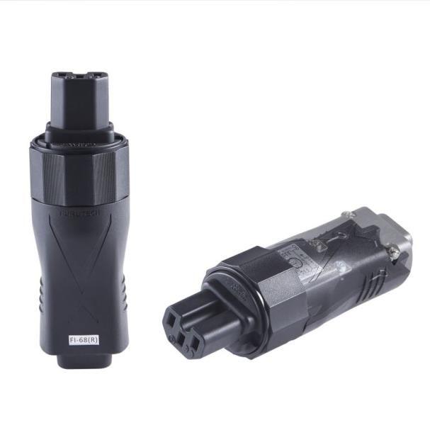 FURUTECH FI-68 (R) / (G) High-End Power IEC Inlet w/Buit in Noise FIlter   (Rhodium / 24K Gold)