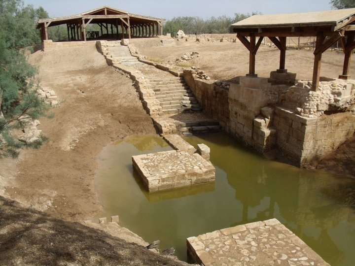 Baptism Site of my Lord and Savior...I got to walk the same place that Jesus did. Unbelievably Amazing!