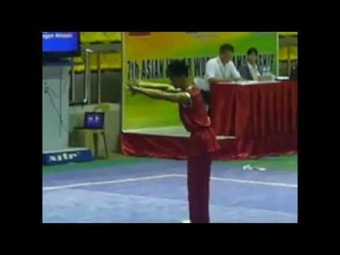 Nan Quan Compulsory 7th Asian Wushu Junior Championships Philippines Gold medalist - Ken Alieson Omengan (B Group)
