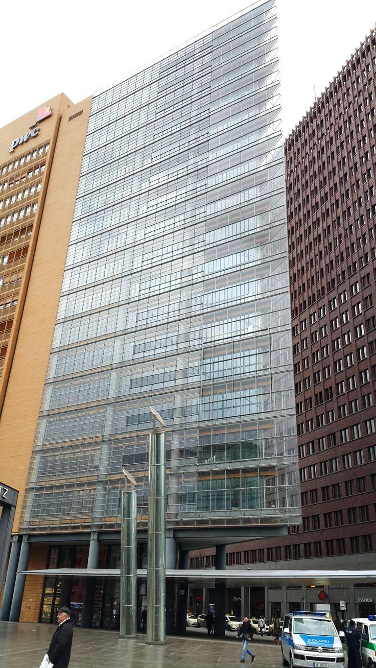 Renzo Piano . Daimler  Crysler area at Postdamer Platz.