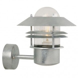 Nordlux Blokhus Galvanized Outdoor Up Wall Light 25011031