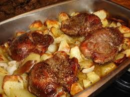 Galtes de porc. gastronomia catalana