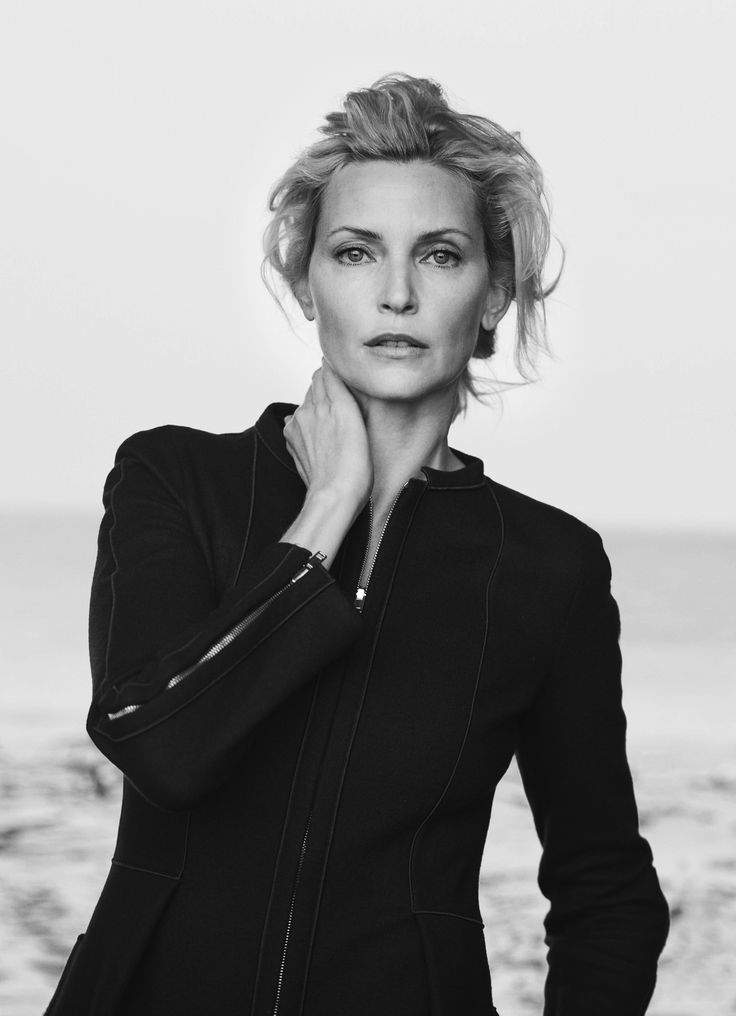 Nadja Auermann featured in the #GiorgioArmani New Normal campaign shot by Peter Lindbergh #GANewNormal