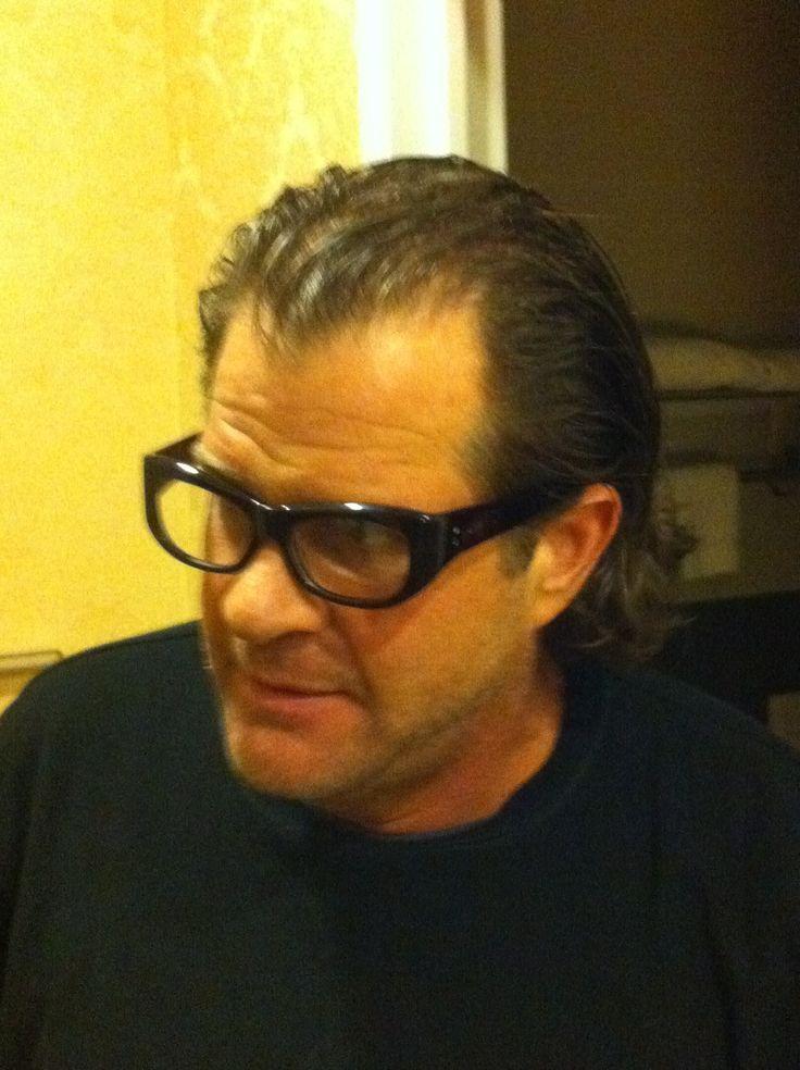 Darren Todd M - NYC in Socrates by Courtland @eyeglassboy .. Onassis style Mod 60s wrap Eyeglasses http://www.eyeglassboy.com/Mens_Pg3_Vintage_Eyeglasses_Thick_Wrap_SOCRATES_Black.html