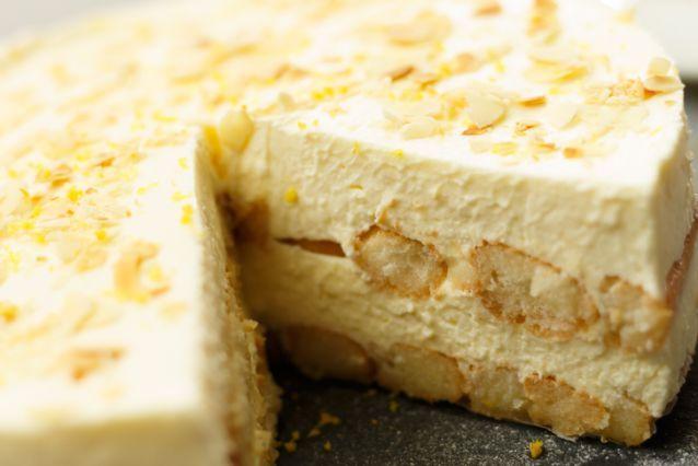 No-bake limoncello tiramisu taart