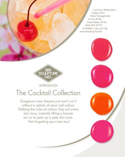 Bio Sculpture Gel  Cocktail Collecttion