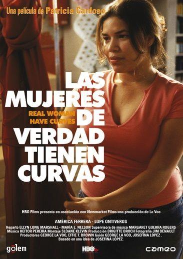 Las mujeres de verdad tienen curvas (2002) EEUU. Dir: Patricia Cardoso. Drama. Comedia. Feminismo. Migración. Educación. Familia. Adolescencia. Cine independente USA - DVD CINE 1359