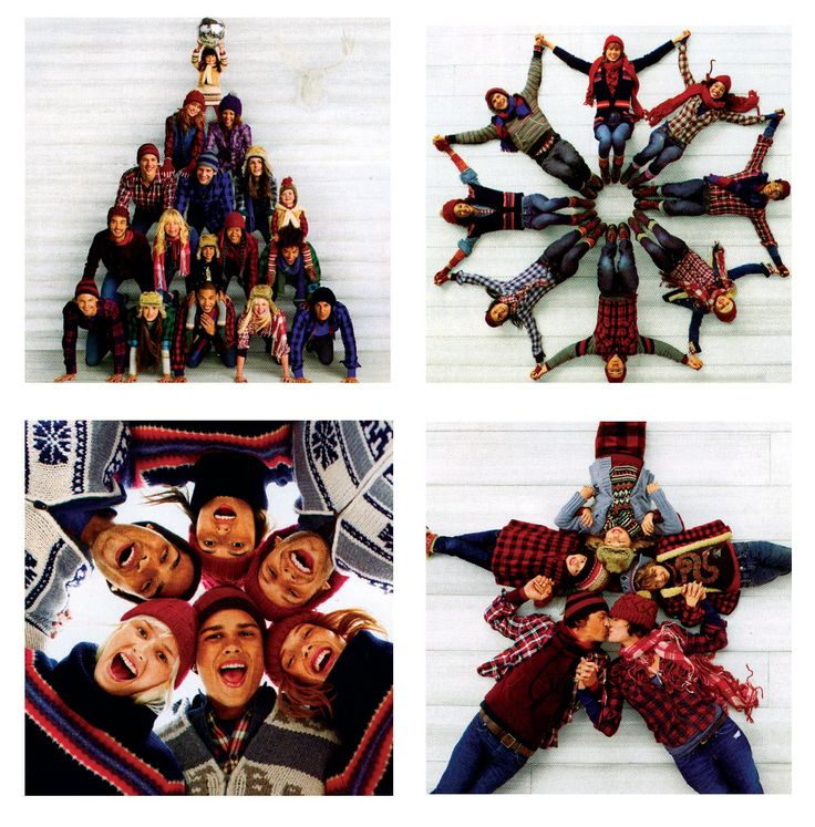 Gotta love gap...awesome photo ideas for the holidays. I could see my dorky family totally doing this! :)