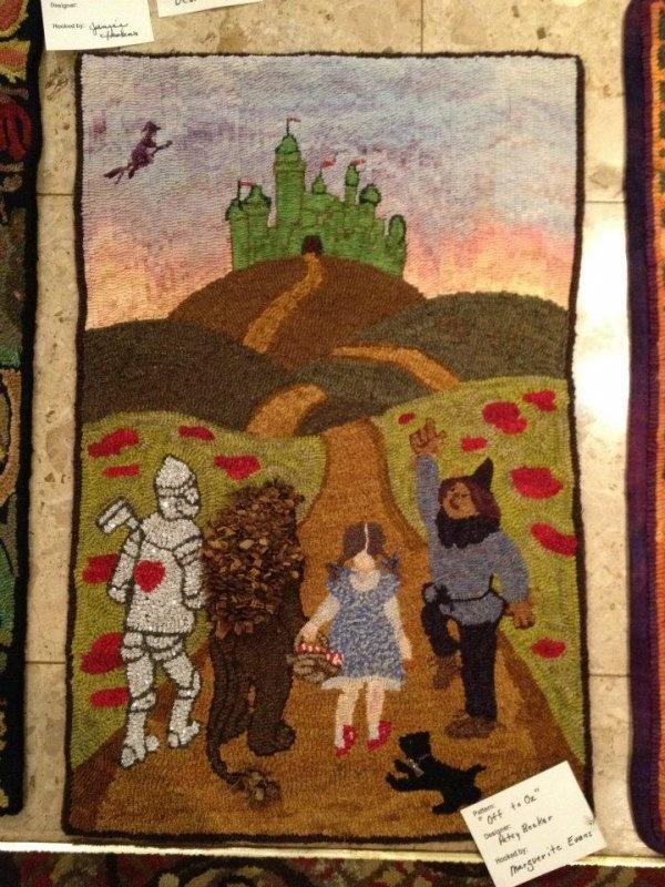 wizard of oz rug | roselawnlutheran