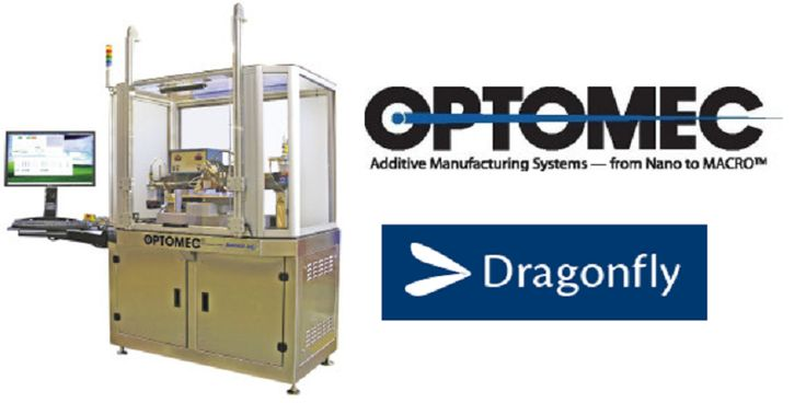 Optomec and Dragonfly Partner Up to Bring Aerosol #Jet #Technology to Italy