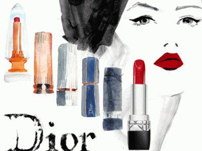 Помада Rouge Dior празднует свое 60-летие
