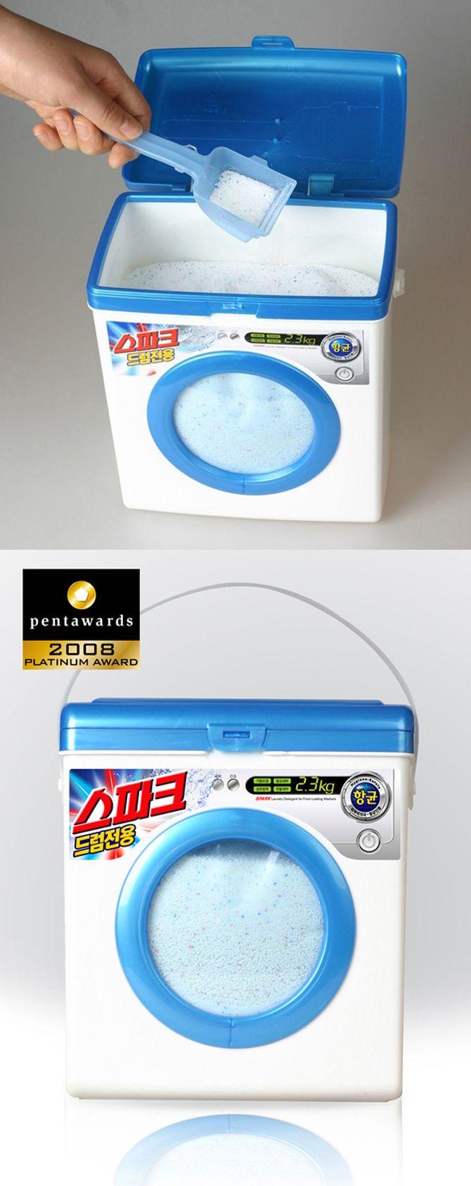 Washing Machine - Laundry Soap Packaging!