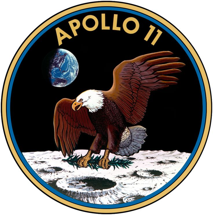 Apollo 11 Patch by GeneralTate on deviantART