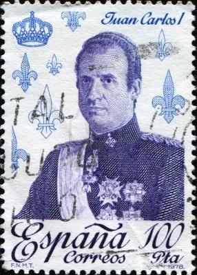 Sello de Correos del Rey Juan Carlos I,1978