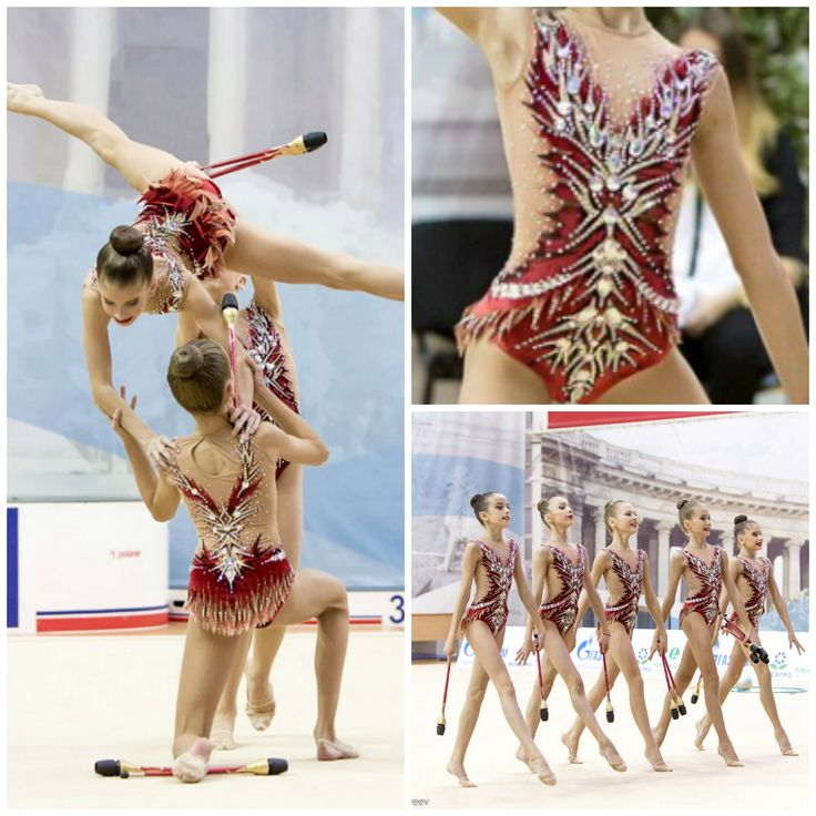 Rhythmic gymnastics leotard (photos by E.Matveev)