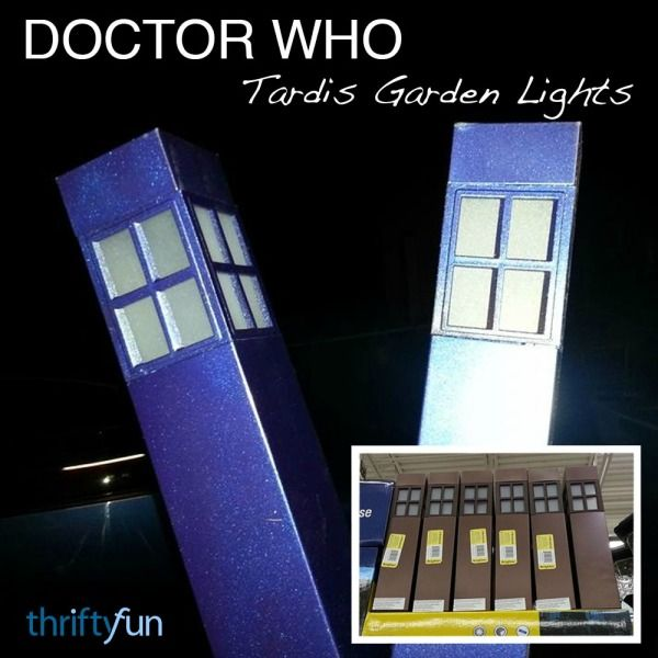 how to make tardis lamp