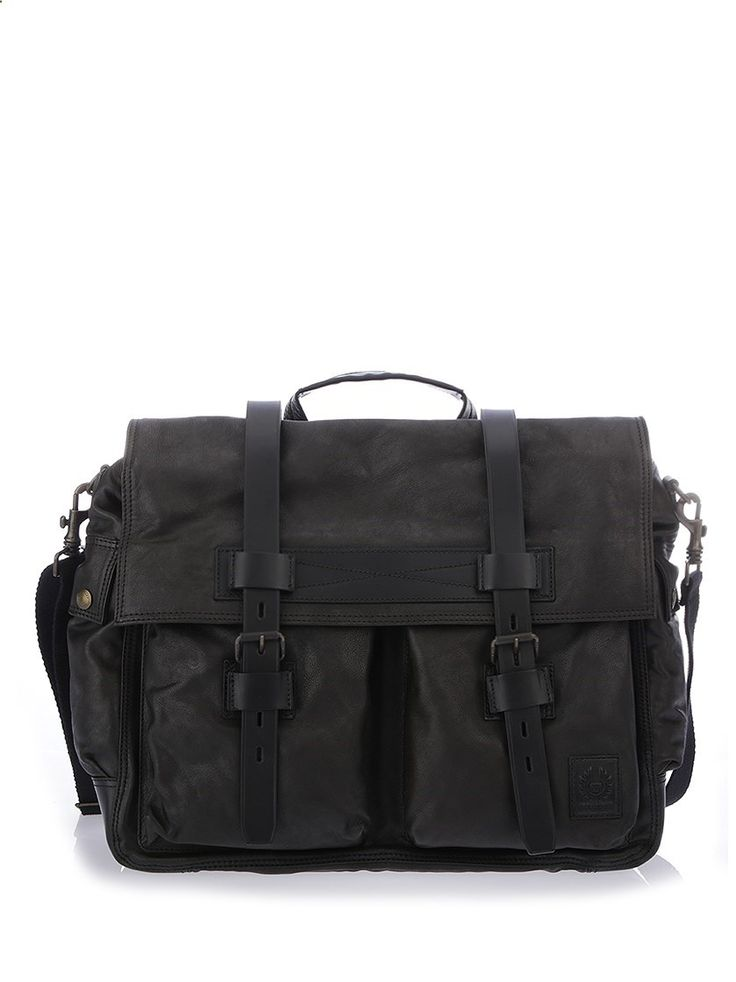 BELSTAFF Colonia leather weekender bag. #belstaff #bags #leather #travel bags #weekend #