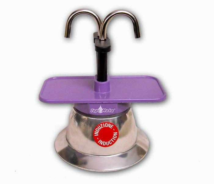 caffettiera induzione | Caffettiera espresso ad induzione (Mini02T-I Viola) - Artigianato ...