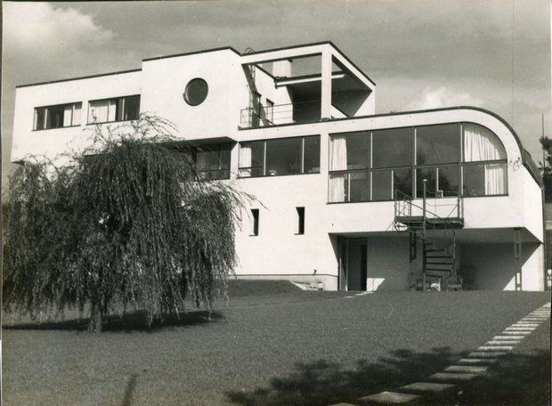 Heinrich Lauterbach: Willa dr Schmelowsky, Jablonec,Czechy, 1931-1932