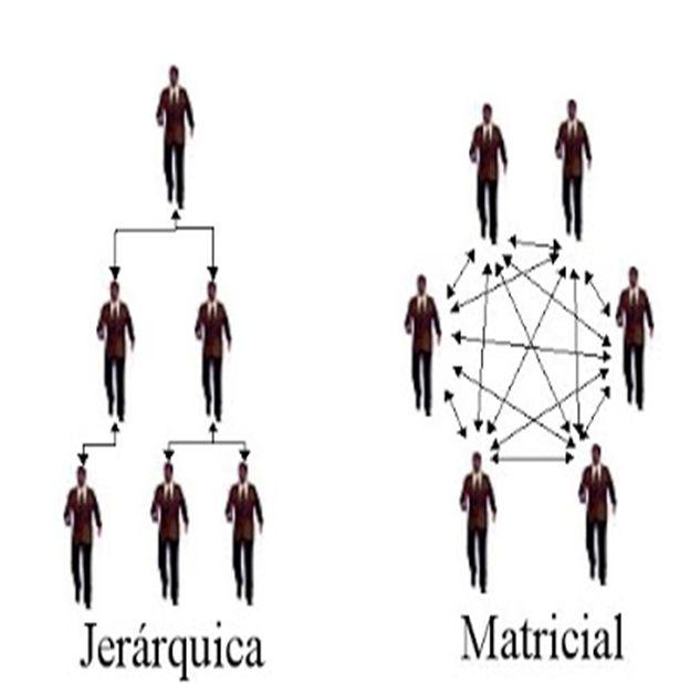 SUS TIPO DE ESTRUCTURA: JERÁRQUICA MATRICIAL.