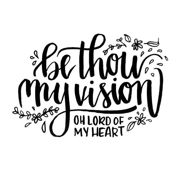 Dear Jesus, Give me Your eyes. Be Thou my vision.