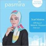 Hijab Segiempat Abstract Pasmira
