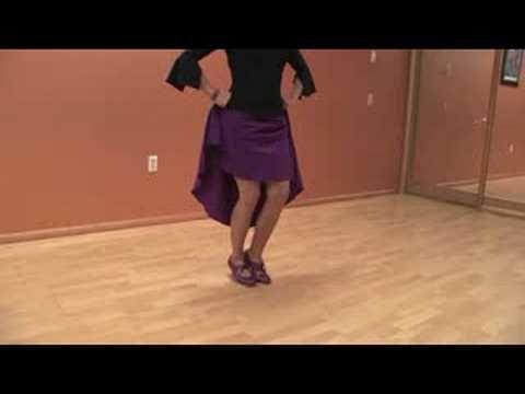 Dancing the Flamenco : Flamenco Dancing: Basic Footwork - YouTube