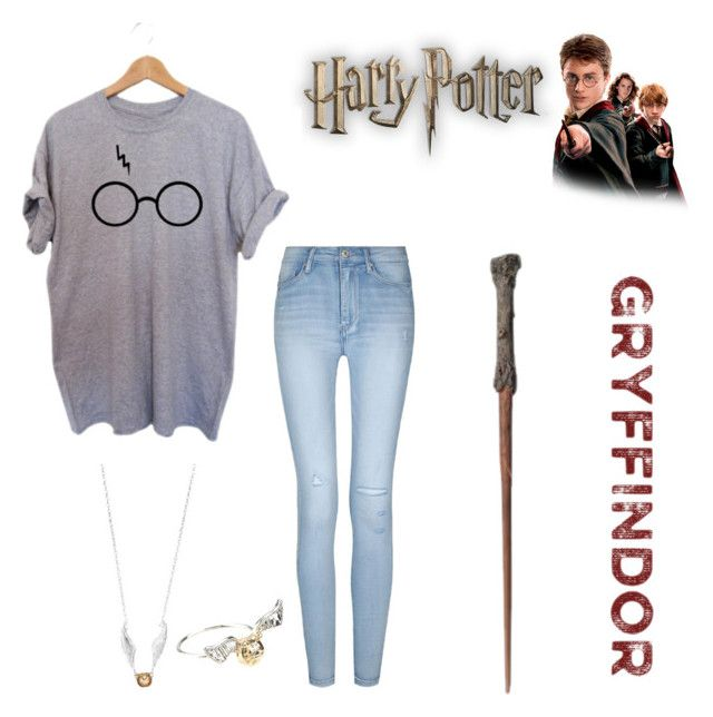 Harry Potter. Always⚡️💞 by erinkennedy1 on Polyvore featuring polyvore, fashion, style, Hot Topic, Warner Bros. and clothing