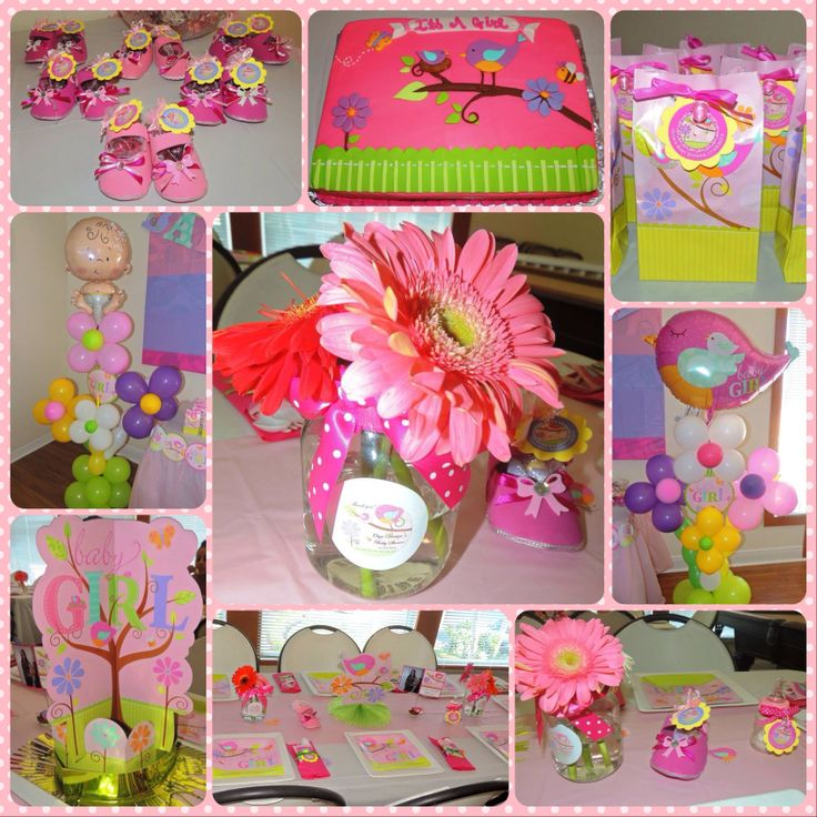 baby girl baby shower shower decor baby girls baby girl theme baby