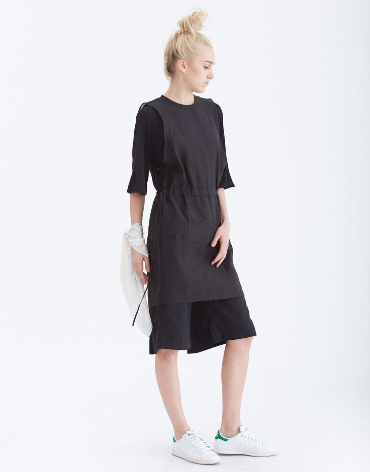 NIKICIO Organza Layer On Dress