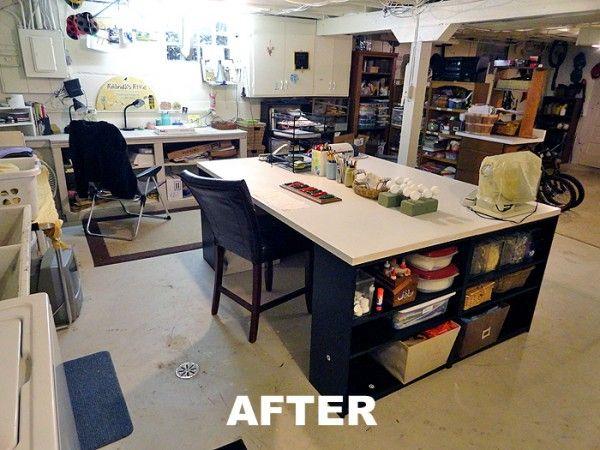 Large DIY Craft table