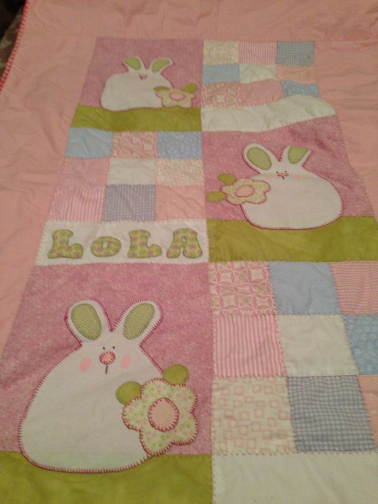 Colcha cuna bebe patchwork pinterest bebe - Colchas cuna patchwork ...