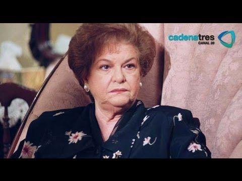 La funeraria Sullivan velará el cuerpo Carmen Montejo