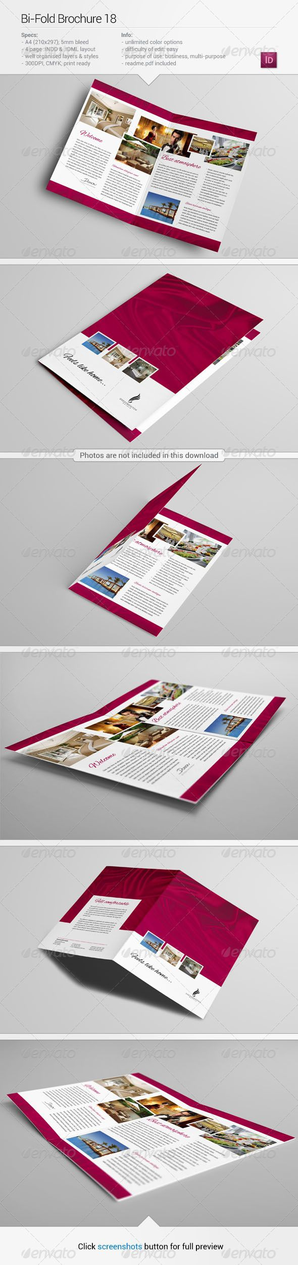 Bi-Fold Brochure 18 by Demorfoza                                                                                                     About this item Specification