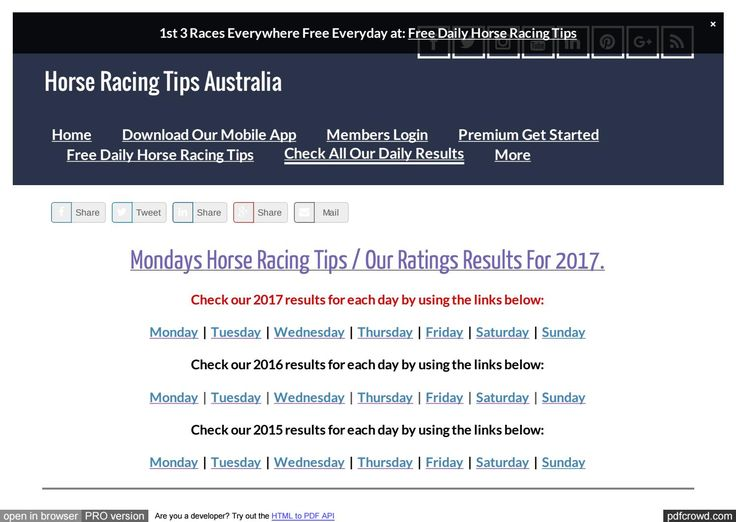 Mondays June 12th Horse Racing Tips Today's Results