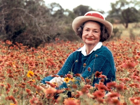 Lady Bird Johnson - thank you for the beautiful wildflowers along Texas highways!!!