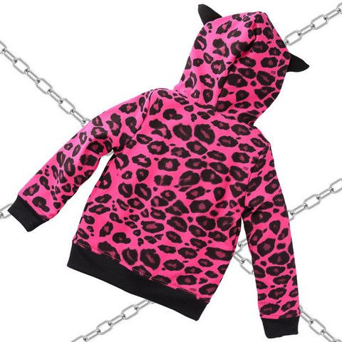 """Devilish cool toddlers bomber jacket  """"Pink Panther"""" with little Horns"""