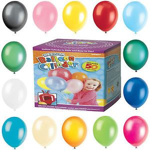 Disposable Helium Gas Cylinder Canister for 50 Balloons many options available | eBay £4.99