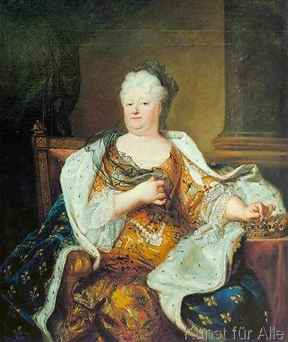 Liselotte von der Pfalz / nach H. Rigaud