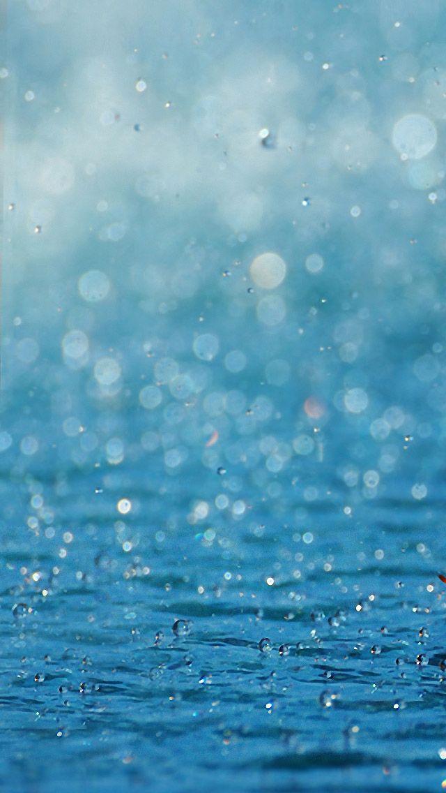 Rainwater IPhone 5 Wallpaper