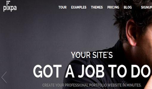 Create Portfolio Websites With Pixpa